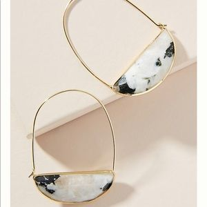 Anthropologie crescent earring